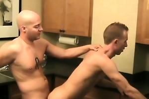 lustful youthful men...raging hormones...in