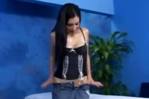 sexy 18 year old beauty receives drilled hard