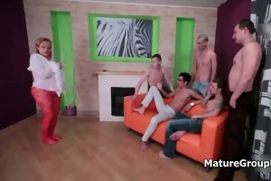 group of young guys fucking a horny old part2