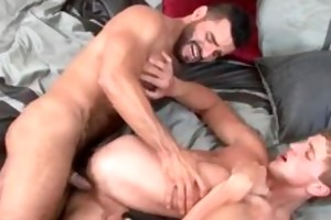 two muscled gay chaps fucking part4