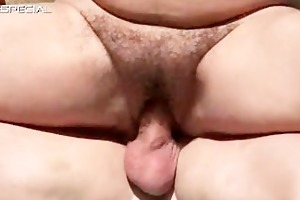 horny milf gets her hirsute muf fucked part2