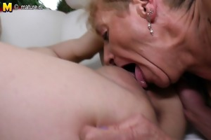 horny old and young lesbians go wild