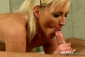 mamma young stud bonks his milf paramour