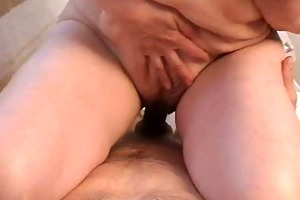 mama with shaggy pubis &; worthwhile boobs
