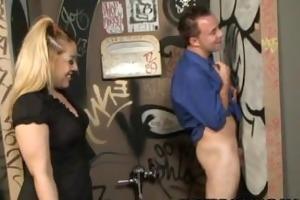 billy dewitt - a kinky glory hole sexcapade with