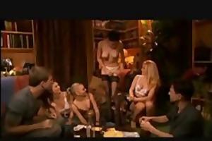 teen strip poker turns into orgy