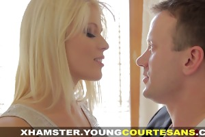 youthful courtesans - newbie paid for taking a