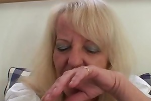 blonde granny in hot some fuckfest
