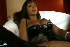 large tit milf rubbing , toying, and blowing pov