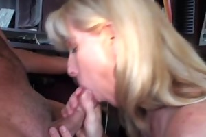 a blow-job and facial compliation movie scene