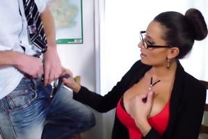 brazzers - hot milf teacher jane acquires fucked
