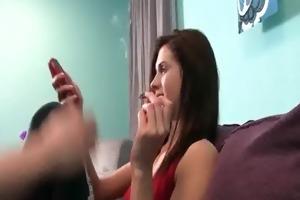 gal screams during priceless sex pov 28