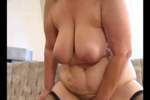 sexy mamma n88 golden-haired bbw mature with a