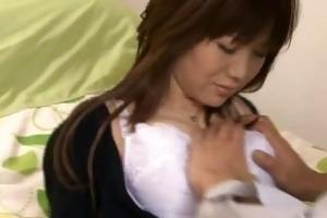 busty japanese wife nanako mori receives part1