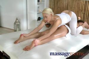 massage rooms cute juvenile lesbo has