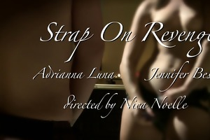 lesbos love strap-ons 2: thong on revenge