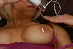 lingerie mother i creams pussy
