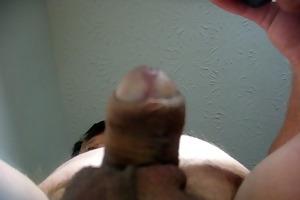 68 yrold older man #139 mature cum close closeup