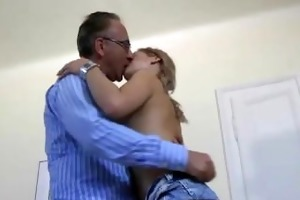 older guy sexy younger stocking legal age