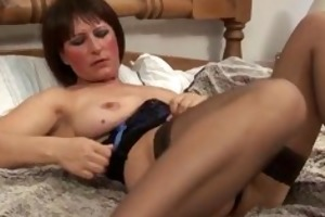 dirty old mamma in hot lingerie fucking part4
