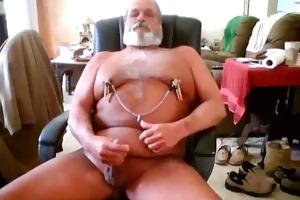 bear daddy jerking