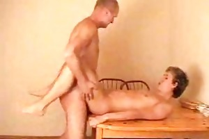 slender juvenile gay gets his booty hole rammed