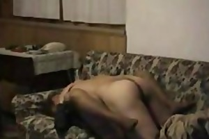 fucking hubby on the couch