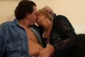 mature woman bonks a shy younger guy