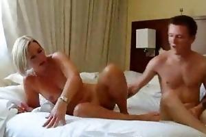 sexy mature blond mother i hawt suz fucks her