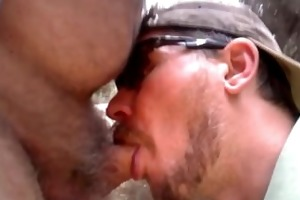 engulfing off uncut hairy daddy, but i blow also
