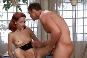 payton leigh has her dripping gash tongued by a