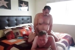 bearded dad fucks his paramour in the a-hole 3