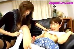 young cutie cumming from fake shlong getting