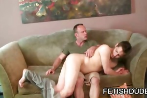 muscle dad thrashing his twink lover sean michael