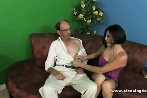 grandpapa fucks his younger trophywife