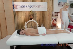 massage rooms sexy juvenile lesbos have oily