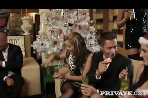private: christmas teen orgy