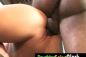 watch how my daughter is fucked by a dark dude 16