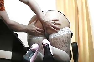 young blond milf nurse blows hard boner