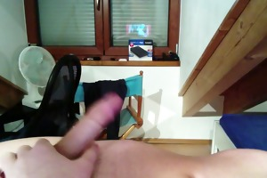 very youthful german boy jerking off
