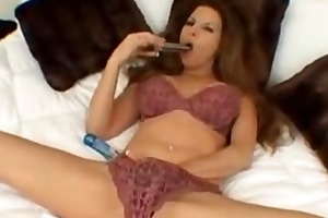 she is loves to masturbate