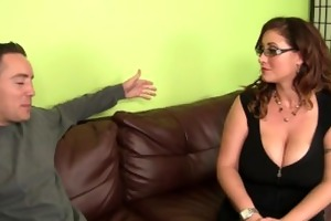 breasty milf hottie receives fucked hard