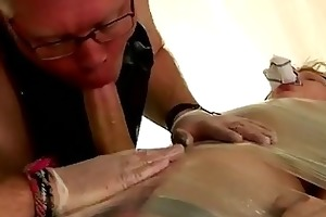 twink video strapped down and at the grace of his