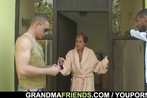 studs team fuck granny