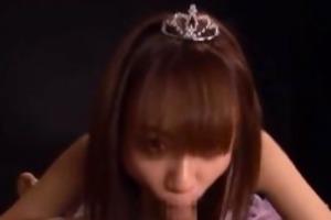 asian princess babe gives a hawt oral pleasure