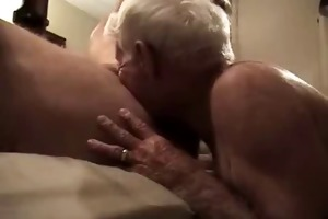 gray haired grandad suck huge wang and get it is
