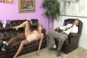 white sweetheart takes giant black dick 1