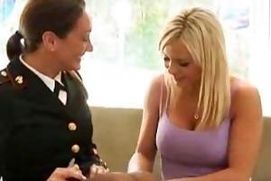 bree olson copulates michelle lay in uniform