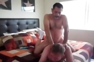 bearded daddy bonks his paramour in the a-hole 3