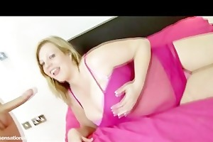breasty milf amber hall rides college students
